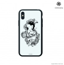 Cell_phone_cases_iPhone_X_cover_geisha_carcaças_iphone_color_blanca_a